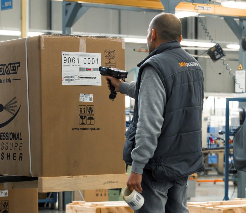 Scannerizzazione codice a barre settore supply chain
