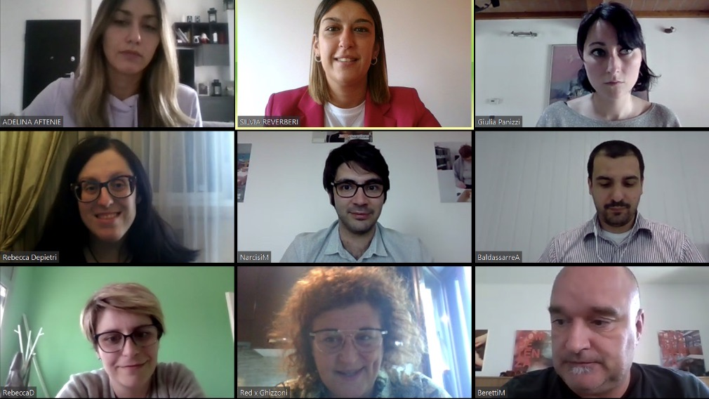 Team building in videocall