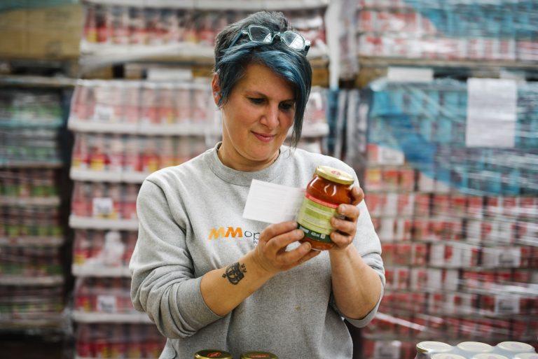 Label settore food